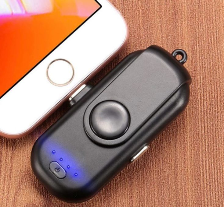Powerbank for keychain smartphone