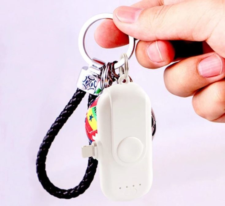 Powerbank for the keychain