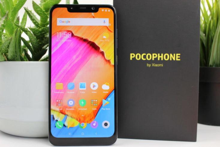Xiaomi Pocophone F1 Poco F1 vertical