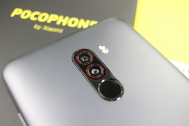 Xiaomi Pocophone F1 camera near