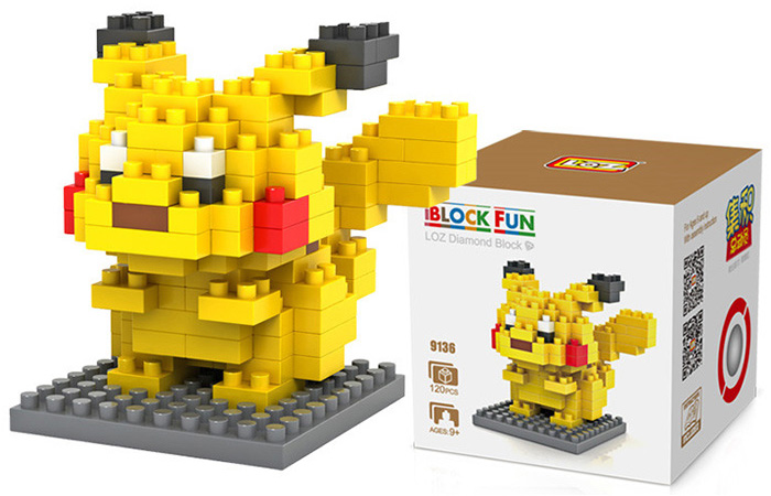 pokemon LOZ brick set