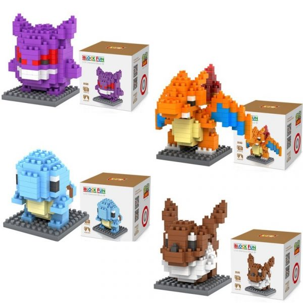pokemon brick set variations