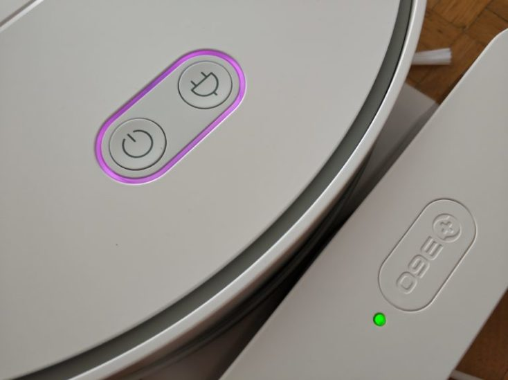 360 S6 Sweeping Robot Vacuum Robot Charging Station