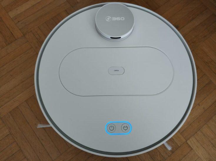 360 S6 Sweeping Robot Vacuum Robot Design Top View