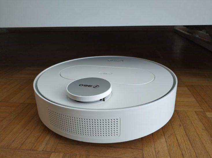 360 S6 Sweeping Robot Vacuum Robot Dimensions