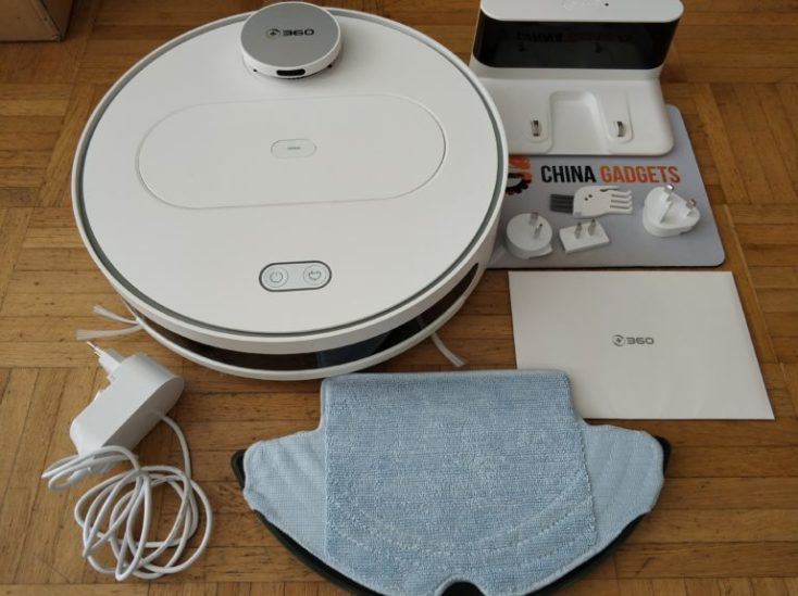 360 S6 Sweeping Robot Vacuum Robot Scope of Delivery