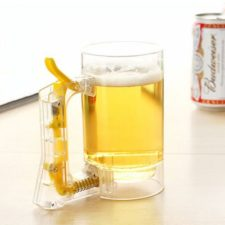 Beer foaming cup