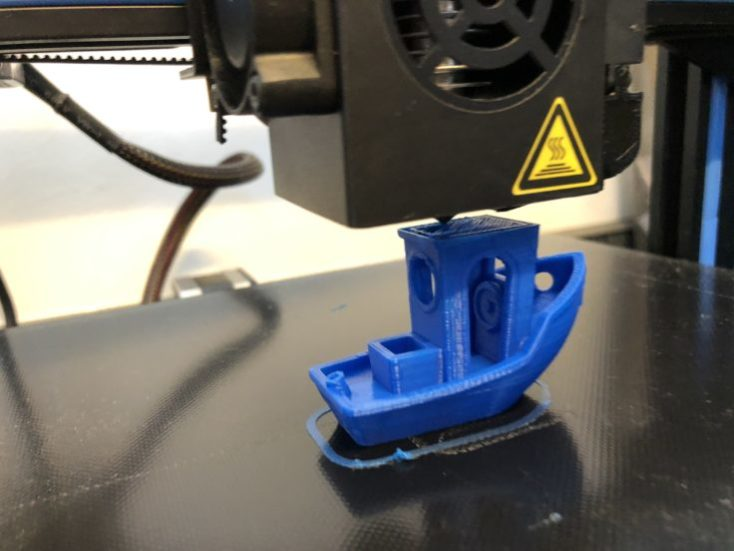 Benchy on the A10