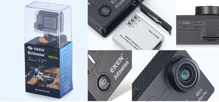 EKEN Alfawise V50 Pro Design