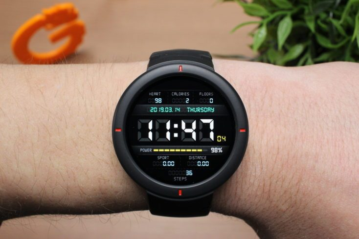 Huami Amazfit X Smartwatch With 24h Heart Rate Measurement Xiao Ai