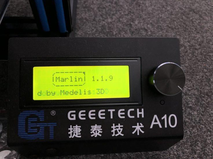Geeetech A10 3D printer (220 x 220 x 260 mm) - the better Ender-3