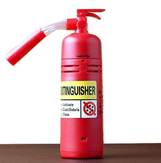 Mini Fire Extinguisher Vacuum Cleaner