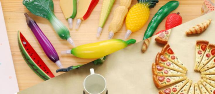 Pizza & Vegetable Pen