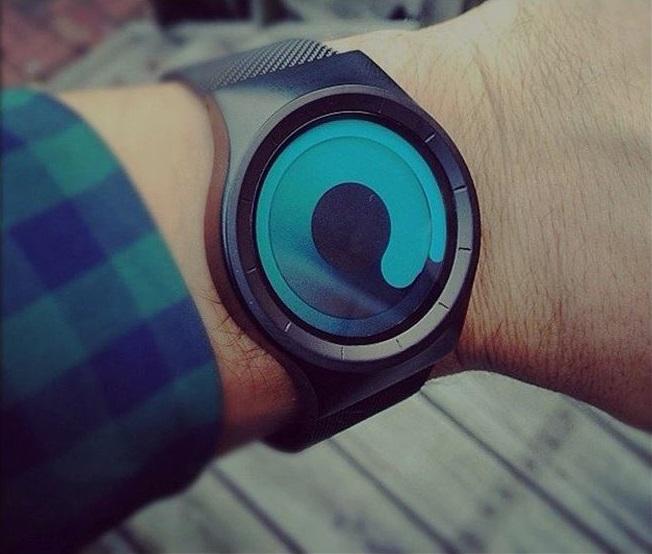 Pointerless Sinobi Wristwatch