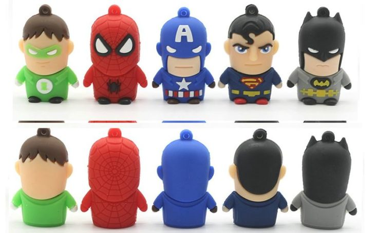 Superhero USB Sticks
