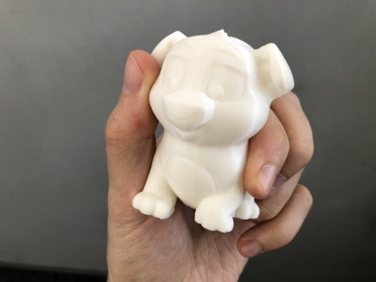 Surface of the 3D print