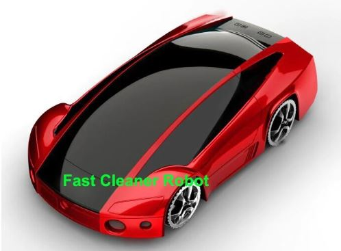 Table vacuum cleaner sports car