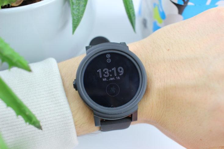 Ticwatch E Smartwatch Always On Mode