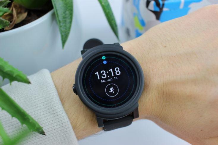 Ticwatch E Smartwatch Display Watchface