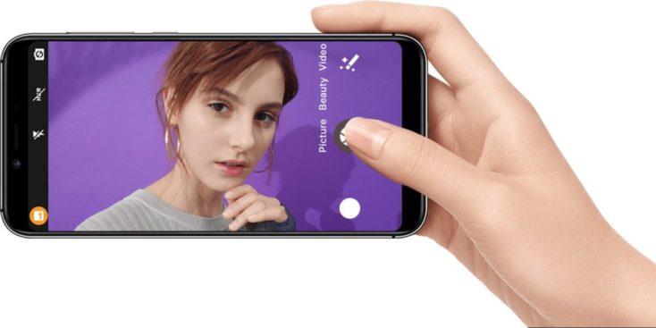 UMIDIGI A3 Smartphone camera horizontal