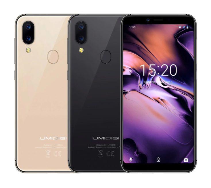 UMIDIGI A3 Smartphone colours