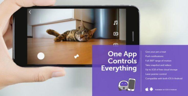 VAVA Pet Cam Pet Robot App