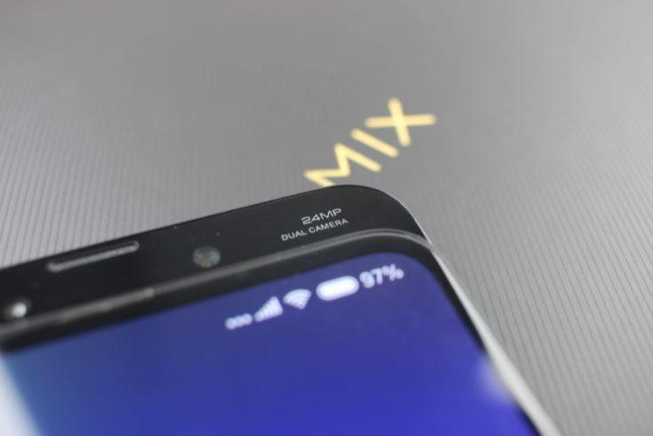 Xiaomi Mi Mix 3 Front Camera Dual Cam Logo