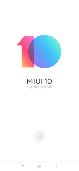 Xiaomi Mi Mix 3 MIUI 10