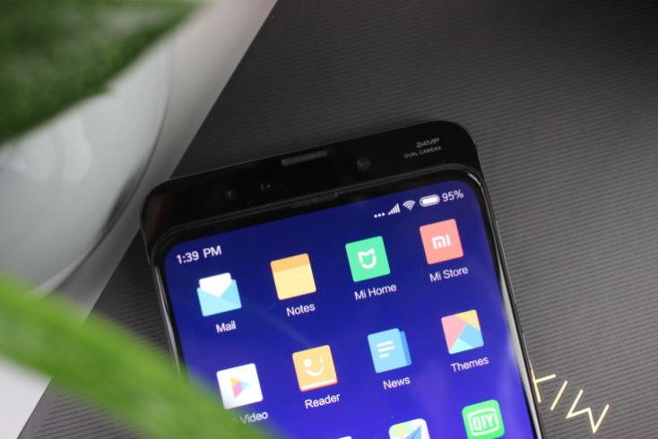 Xiaomi Mi Mix 3 Slider top whole