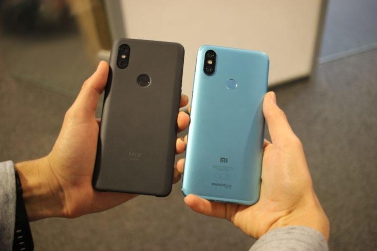 Xiaomi Mi Mix 3 Xiaomi Mi A2 Comparison