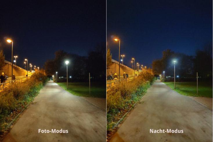 Xiaomi Mi Mix 3 test photo night mode comparison