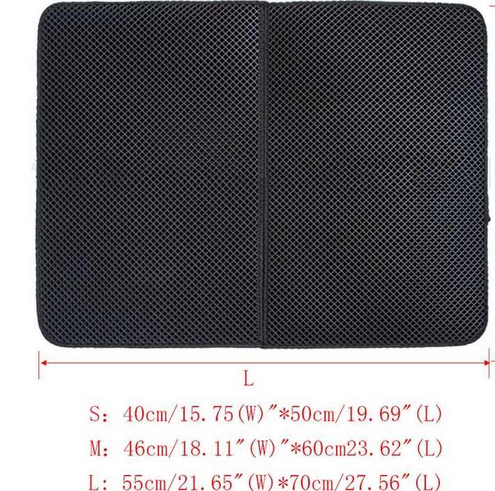 Cat litter mat sizes
