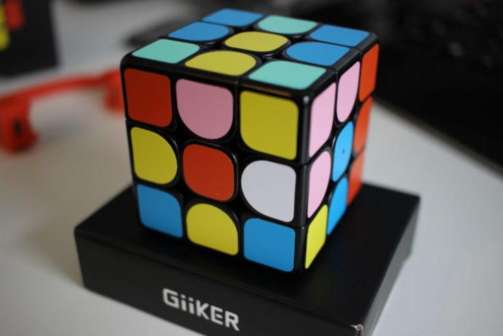 Giiker Supercube i3 scrambled