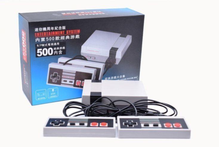 Retro 8 bit console clone