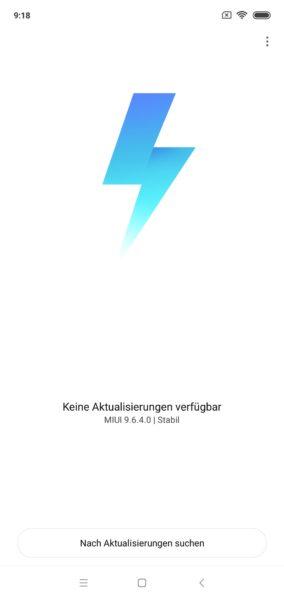 Xiaomi Mi 8 Lite MIUI Software