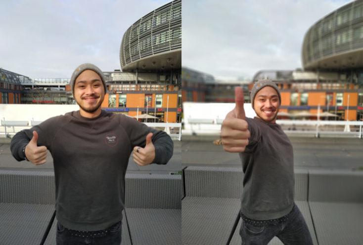 Xiaomi Mi 8 Lite Test photo main camera Portrait Comparison