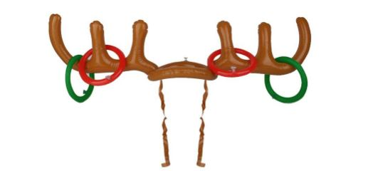inflatable reindeer antler