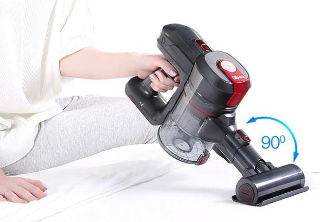 Dibea-D008 Pro vacuum cleaner in hand