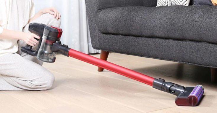 Dibea D008 Pro Battery Vacuum Cleaner Dimensions
