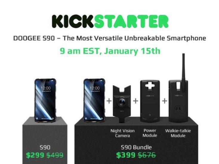 Doogee S90 Kickstarter