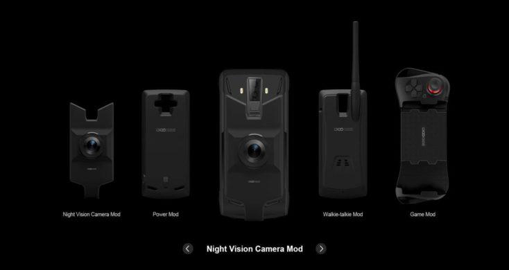 Doogee S90 Modules Overview