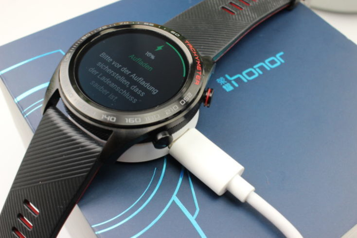 Honor Watch Magic Battery Life Charging