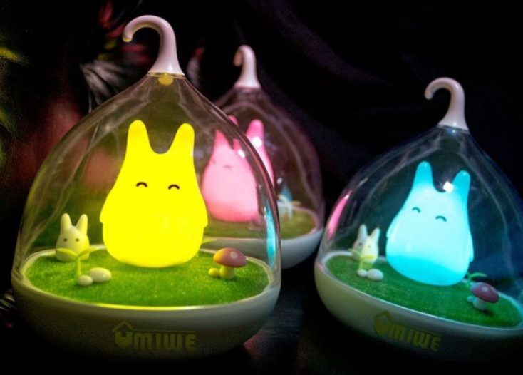 Totoro nightlight lamps