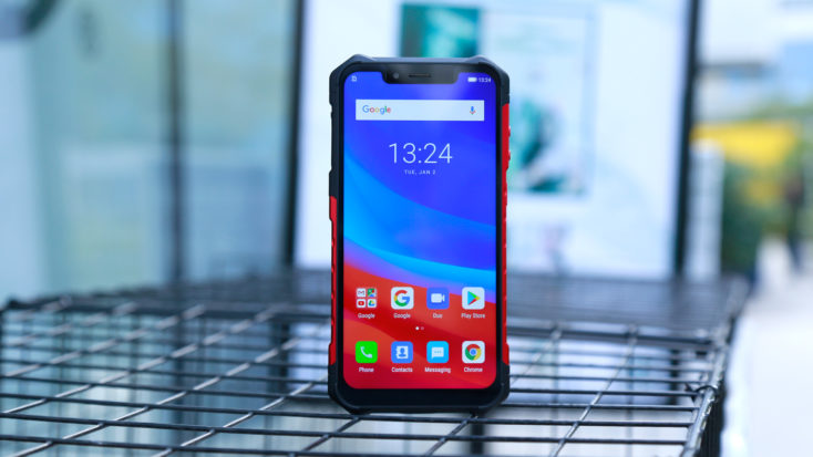 UleFone Armor 6 with active display