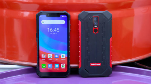 Ulefone Armor 6 Outdoor Smartphone Front and Back