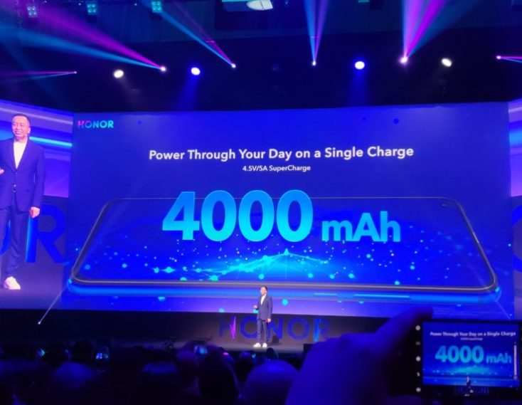 Honor View 20 Battery