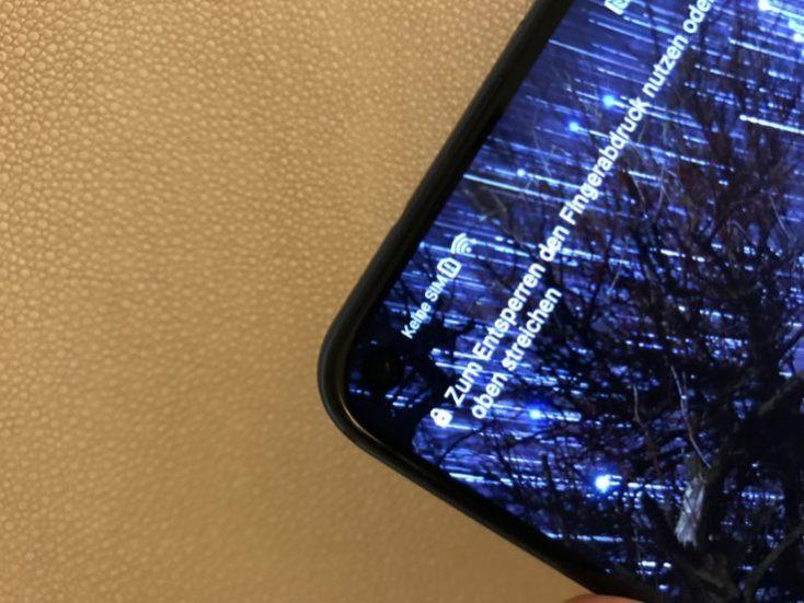 Honor View 20 In Display Camera Hide Wallpaper