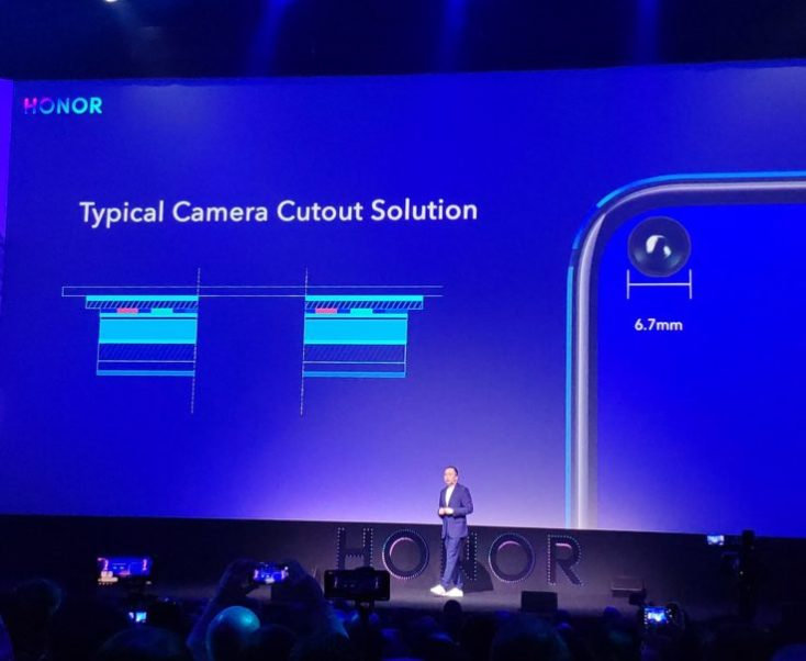 Honor View 20 In Display Camera Presentation