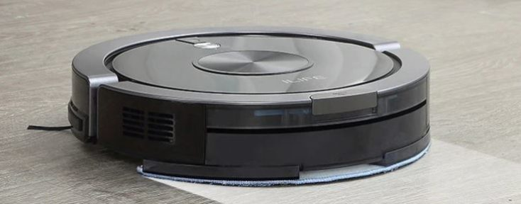 ILIFE X800 vacuum robot wiping function