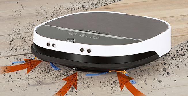 Minsu NV-01 robot vacuum performance